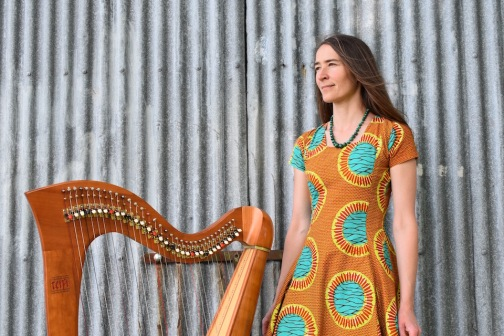 West Wales harpist and singer songwriter Jess Ward