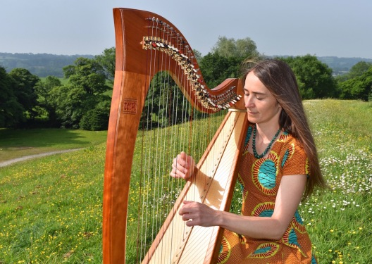 Jess Ward on harp